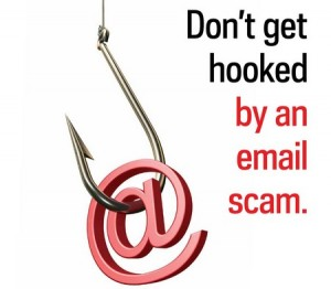 Beware of the email scam